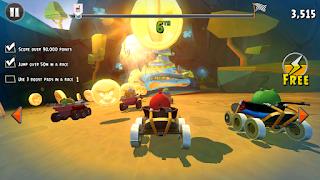 Angry Birds Go! Mod Apk Unlimited Money