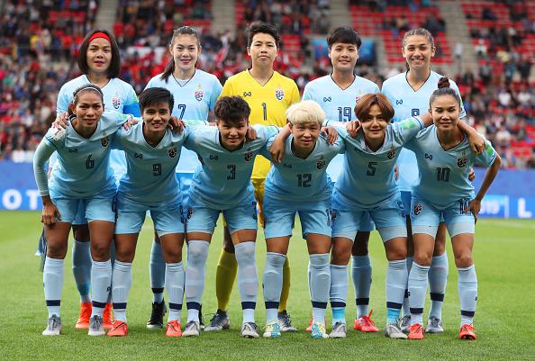 Formación de selección de Tailandia ante Chile, Copa Mundial Femenina de Fútbol Francia 2019, 20 de junio