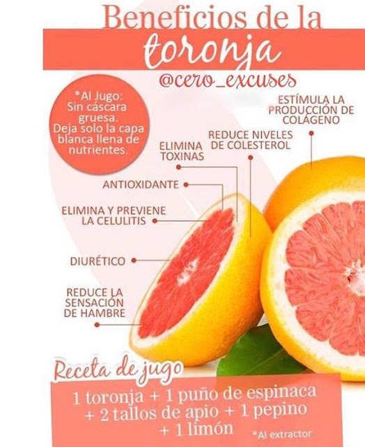 BENEFICIOS DEL POMELO O TORONJA