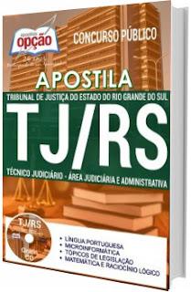 Apostila TJRS 2017 Técnico Judiciário