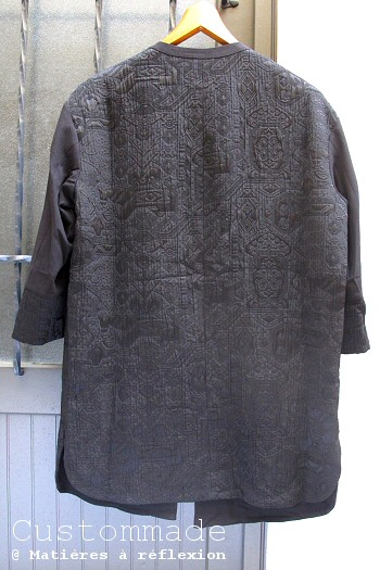 veste noire Custommade