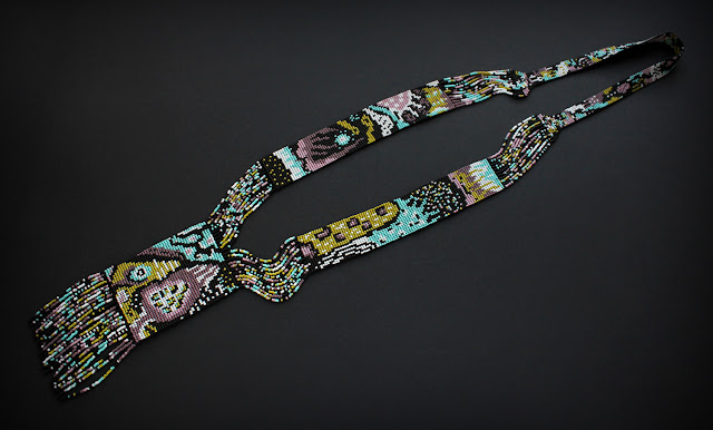 купить авторский гердан из бисера ручной работы в интернет магазине