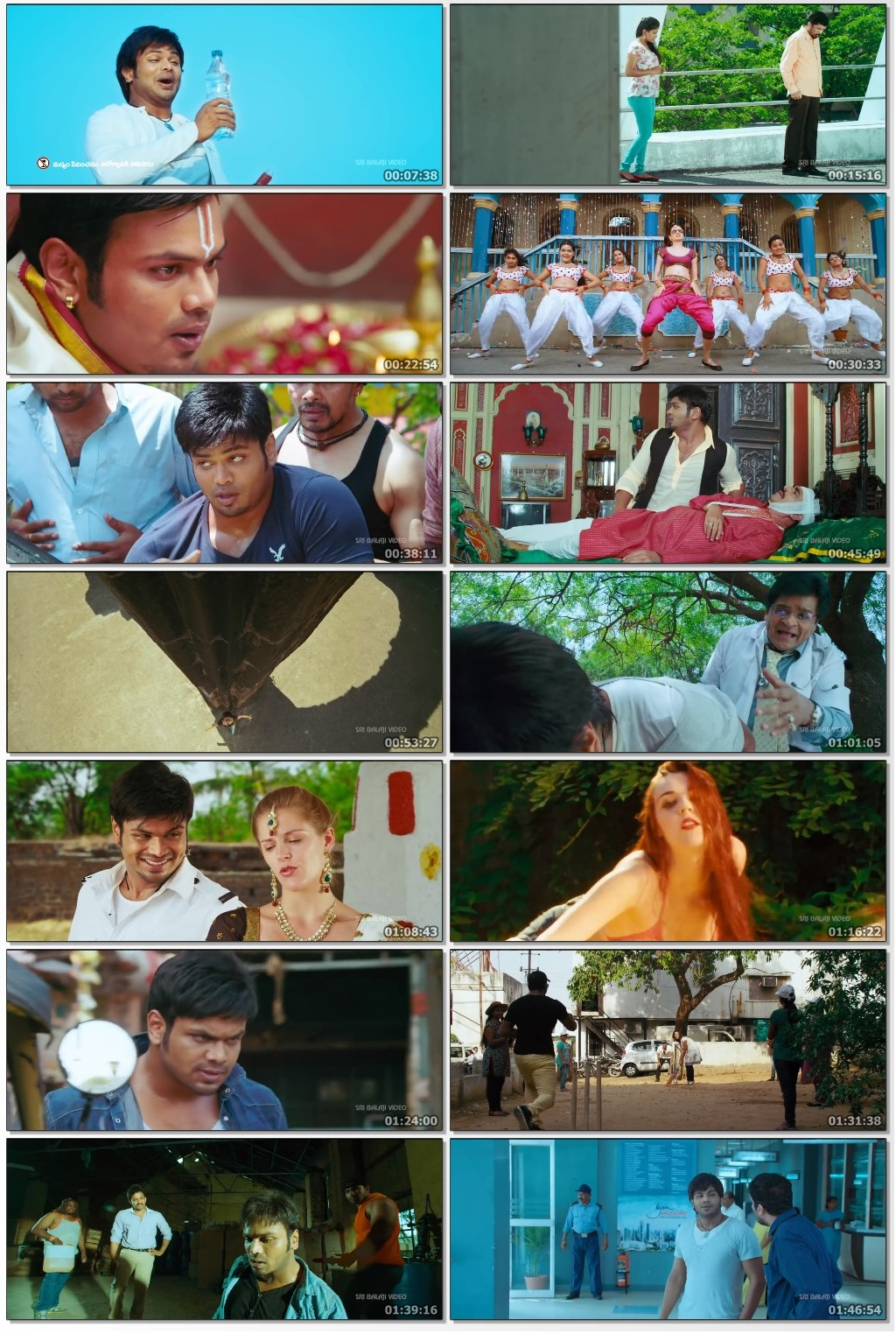 Potugadu (2013) Hindi Dubbed 720p HDRip