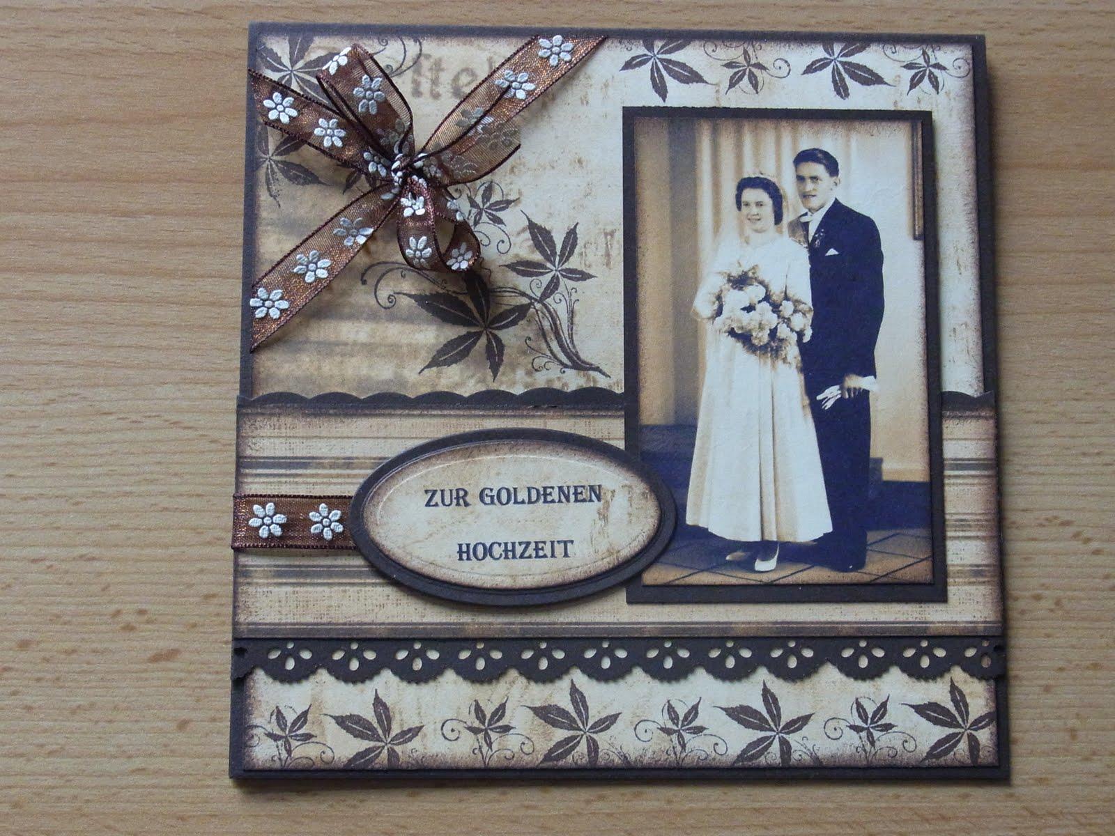 Heidis Creativblog Zur Goldenen Hochzeit