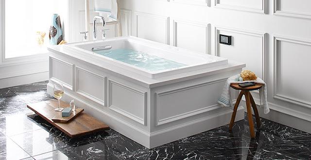 Fiorito Interior Design Rub A Dub Dub The Skinny On Bath