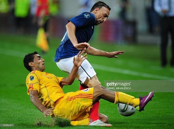 Perancis vs Rumania