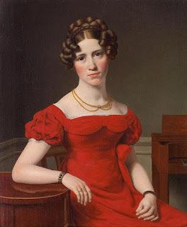 Подборка живописи  «Дама в красном» - 2
