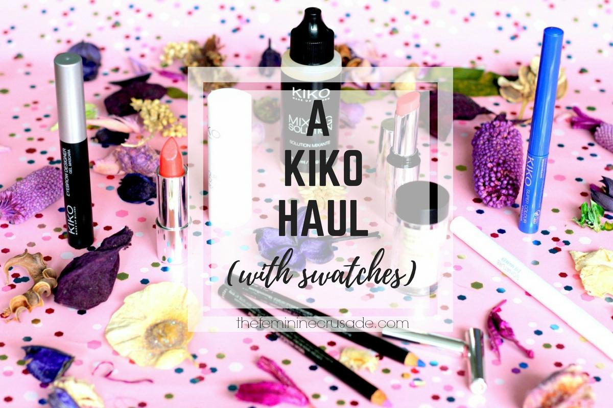 A Kiko Haul