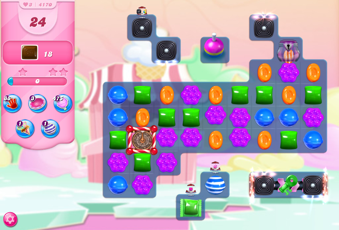 Candy Crush Saga level 4170