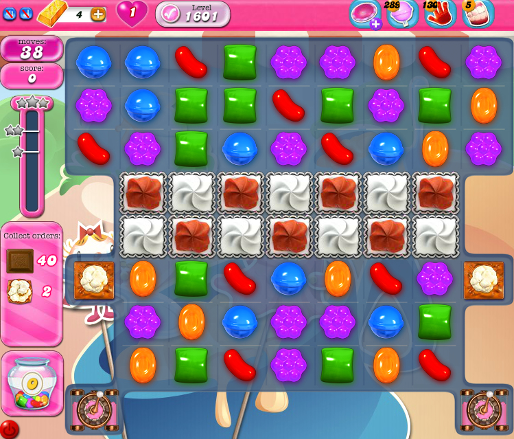 Candy Crush Saga 1601