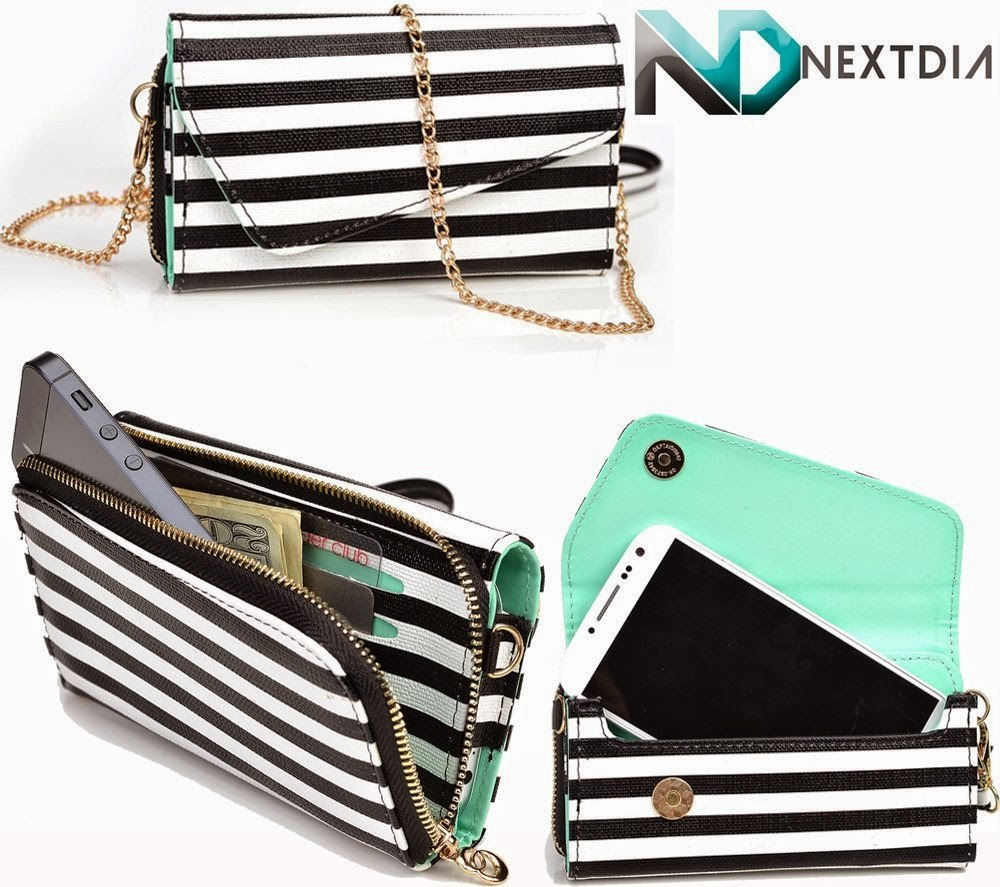 Wristlet with Shoulder Strap