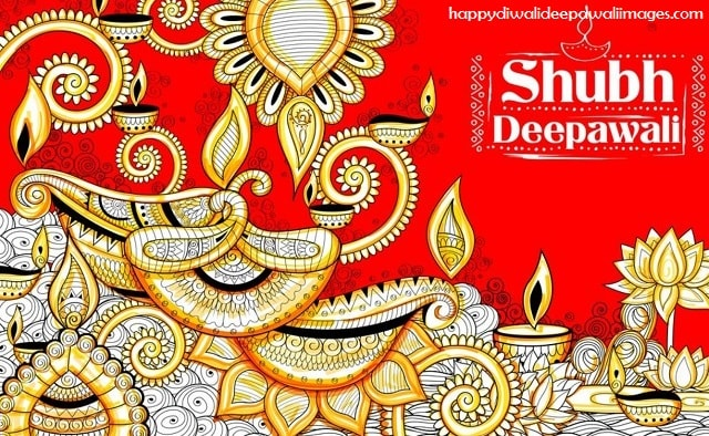 A beautiful Drawing on Deepavali