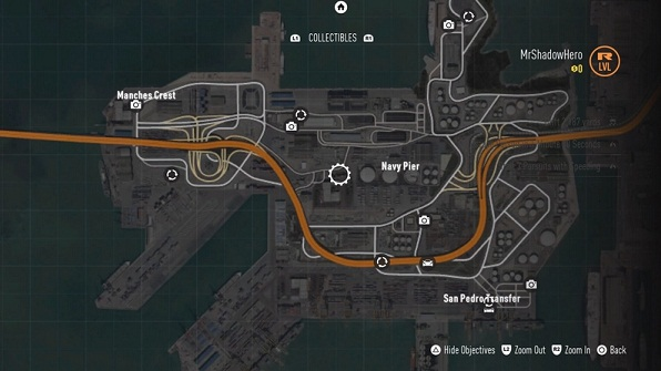 Collectibles, South Port District, NFS 2015, Map