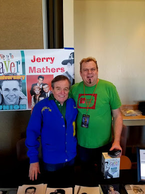 "With my pal Jerry Mathers ""The Beaver""!  We were both on WGN RADIO recently"