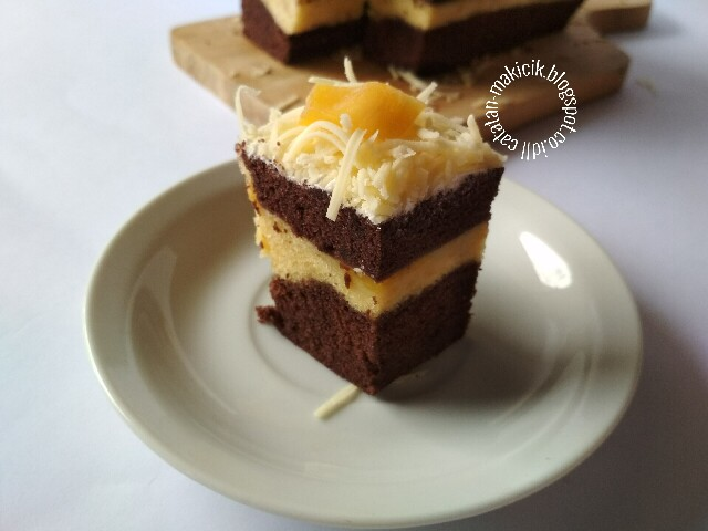 Resep Brownies Kukus Nangka