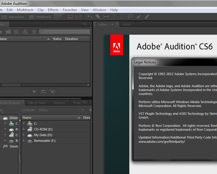 Adobe Audition CS6 Crack Plus Full Keygen [Latest Version]