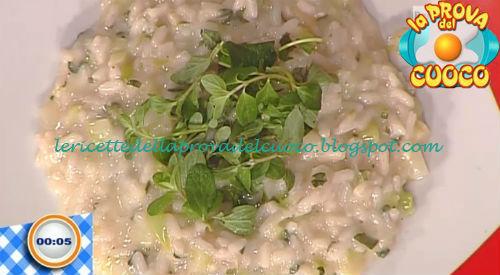 Risotto con asparagi e maggiorana ricetta Gandola da Prova del Cuoco