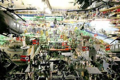 Koleksi Mainan Tentara Terbesar di Dunia Akan Dilelang