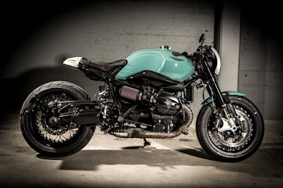 "BMW R NineT ""DBR9T"" by  VTR Customs"