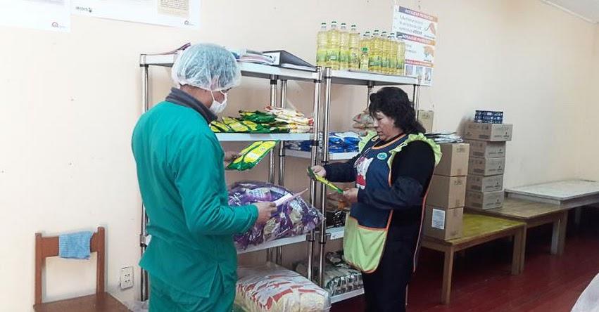 QALI WARMA: Más de 13 mil colegios de Pasco reciben alimentos para iniciar servicio alimentario - www.qaliwarma.gob.pe