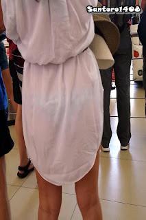 sexy chava vestido transparente
