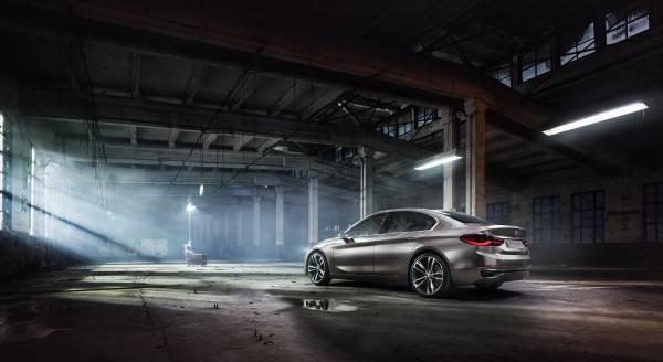 P90204808 lowRes BMW Concept Compact sedan ή μήπως σειρά 1 sedan; BMW, BMW Concept