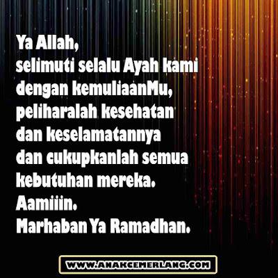 ucapan puasa ramadhan untuk ayah