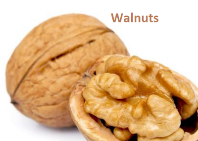 Prevents Balding by eating walnuts