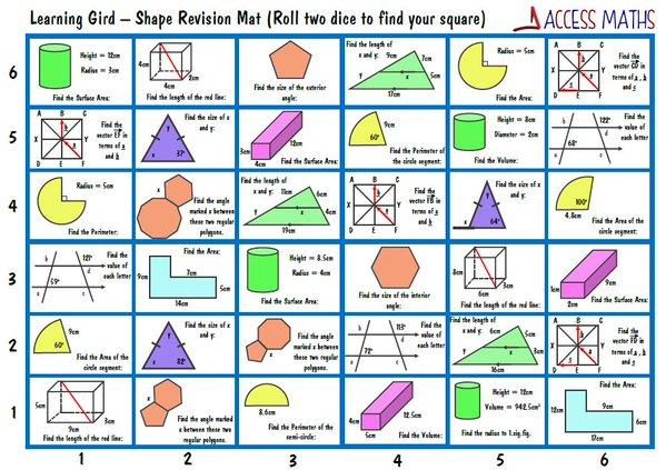 Gcse maths homework sheets