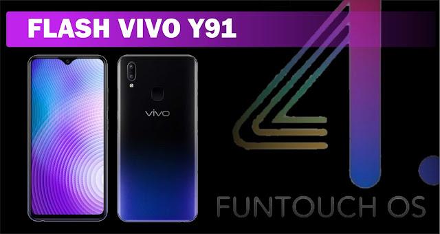 Cara Flash Vivo Y91 Untuk Atasi Kerusakan Software