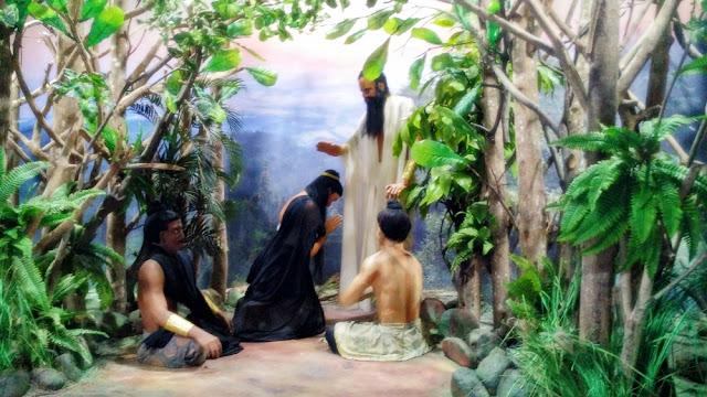 Diorama Uttajena Gajayana Mpu Purwa