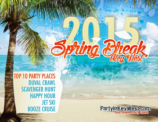 Top 10 Party Places for Spring Break 2015