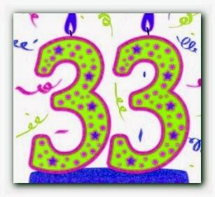 Poème d'anniversaire 33 ans