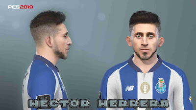 PES 2019 Faces Héctor Herrera by Prince Hamiz
