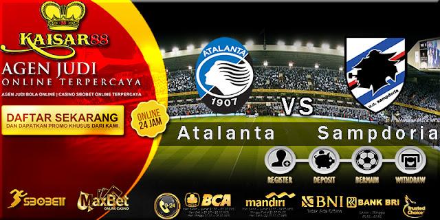 Prediksi Bola Jitu Atalanta vs Sampdoria 03 april 2018