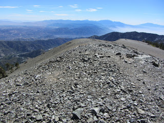 View east from Mt. Harwood