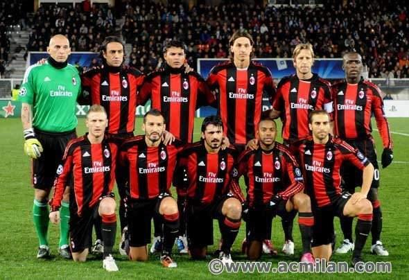 Daftar Skuad Pemain AC Milan 2011/2012