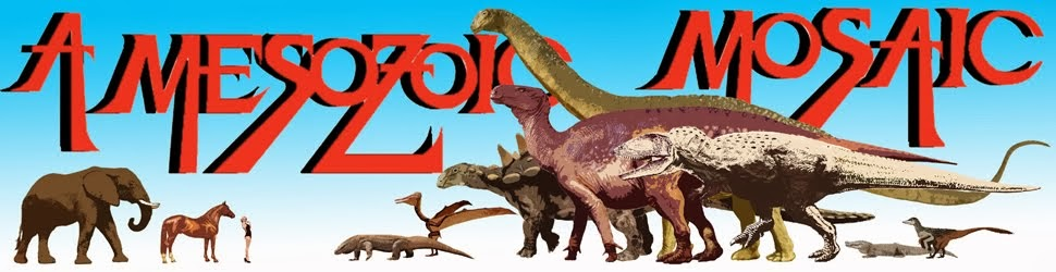 A Mesozoic Mosaic: A dinosaur oriented blog