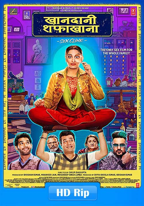 Khandani Shafakhana 2019 Hindi 720p HDRip ESub x264 | 480p 300MB | 100MB HEVC