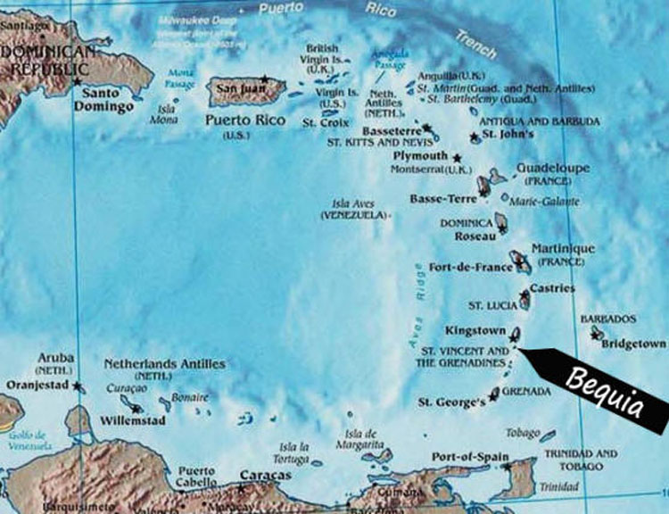 Map Of British Virgin Islands And Us Virgin Islands Globalinterco - Us virgin islands world map
