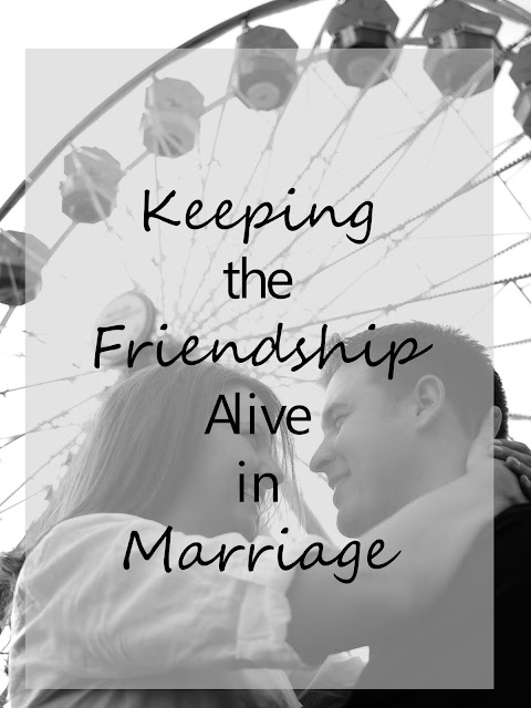 how to I strengthen my friendship with my husband