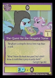My Little Pony The Quest for the Hospital Tome GenCon CCG Card