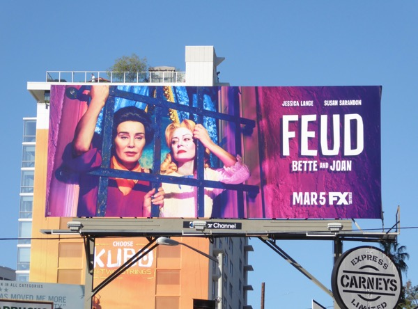 Feud FX series billboard