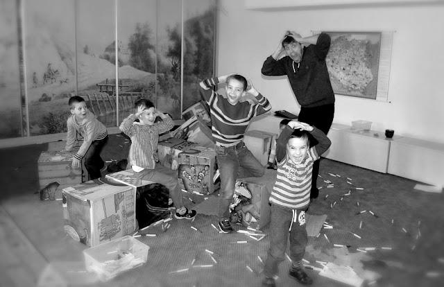 Gliwiccy Bohaterowie, Mateusz Świstak, Baśnie na warsztacie, Muzeum w Gliwicach, willa Caro, Warsztaty dla dzieci,