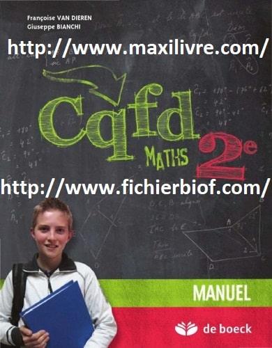 CQFD Maths 2e - Manuel