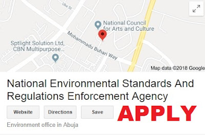 National Environmental Standards and Regulations Enforcement Agency Recruitment 2018 | Apply Here