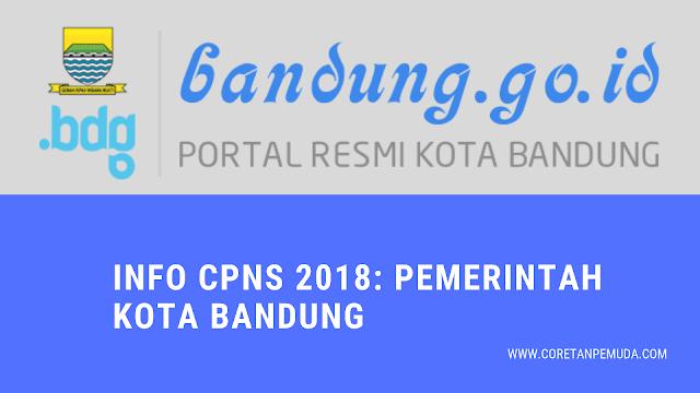 Pengumuman Hasil Tes CAT SKD CPNS 2018 Pemkot Bandung - BKD Bandung