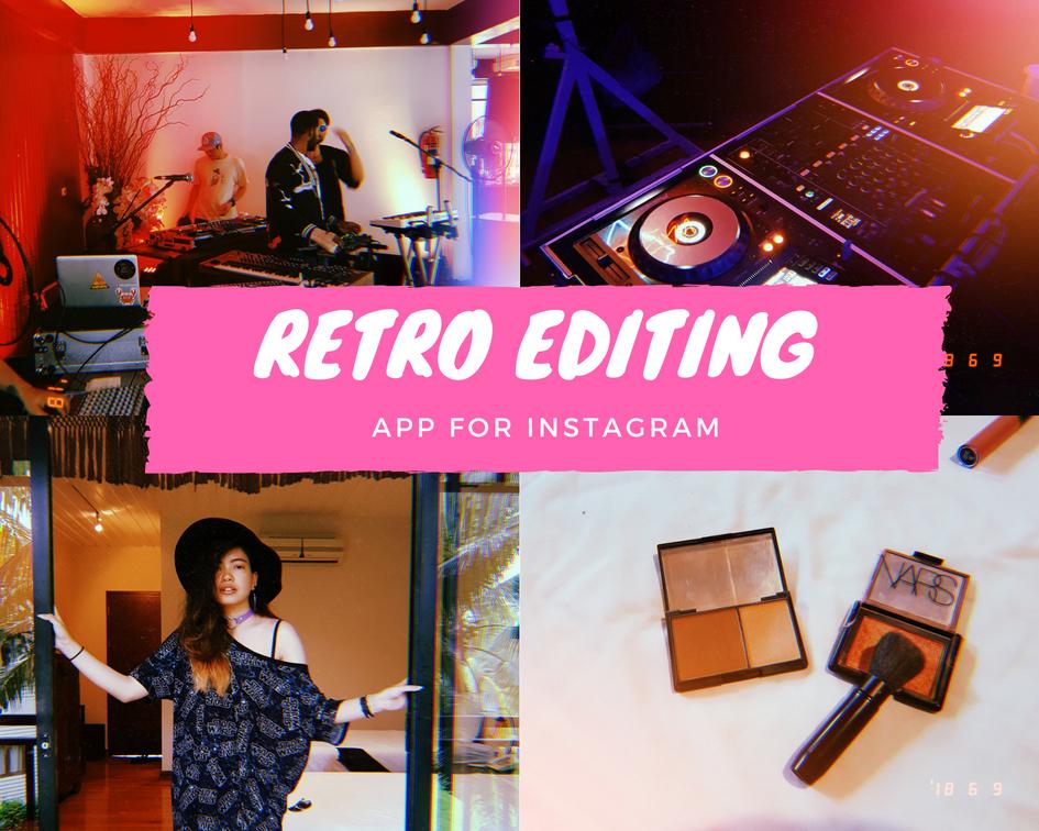 The Equinox Fashion Retro Editing App For Instagram