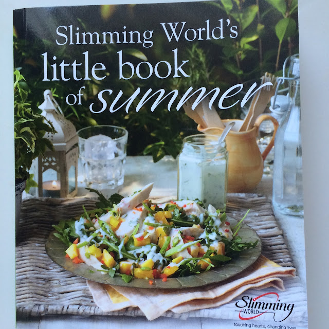 little book of summer book slimming world recipe book