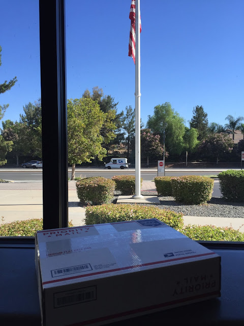 Temecula Post office Flag Mail